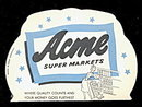 1950s Acme Super Markets Stores Needle Book