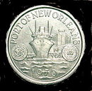 1970 Port of New Orleans Token
