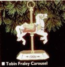 Hallmark 1995 Tobey Fraley Carousel Ornament