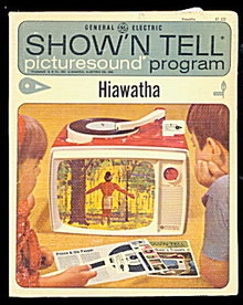 "1964 Show'n Tell ""Hiawatha"" GE Record"