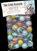 Lone Ranger Silver Shooter 1950s Marbles