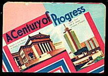 1933-1934 Fair Century of Progress Needle Book