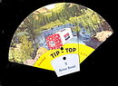 1948 Tip-Top Bread Fold-Out Advertising Fan