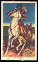 1938 Lone Ranger Bread Co Promo Card