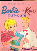 1962 Barbie & Ken Cut-Outs Paper Dolls
