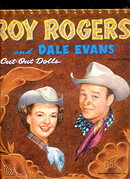 1954 Roy Rogers Cut-Outs Paper Dolls