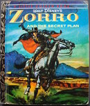 Walt Disney 'Zorro' 1st Edition Little Golden Book