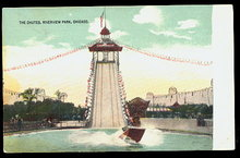 1907 Chicago, IL, Riverview Amusement Park Postcard