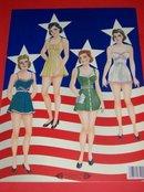 Wacs & Waves (WWII Military Women) Paper Dolls