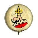 1945 Kelloggs Little King PEP Pinback