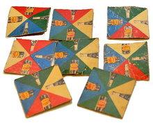 Vintage Vess Cola Advertising Puzzle Pieces