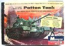 1959 Monogram US Army Patton Tank Model Kit