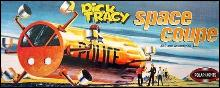 Dick Tracy Space Coupe Model Kit Sealed