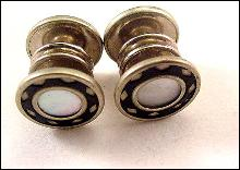 Vintage Mother of Pearl French Cufflinks