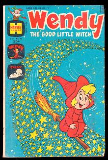 Wendy the Good Little Witch Oct 1972 Comic Book,