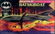 Batman Returns Batskiboat Model Kit Sealed