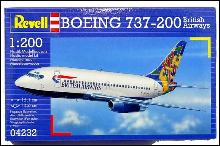 Revell Boeing 737-200 British Airways Model Kit