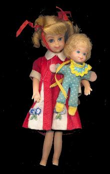 1967 Mattel Buffy with Mrs Beasley Doll