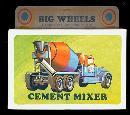 1971 Big Wheels Cement Mixer Mint in Box
