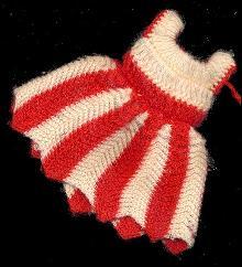 1960s Tammy #9094 Knit Knack Dress