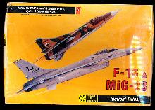 Hobby Craft F-16 & MiG-23 Planes Model Kit