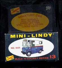 1968 Mini-Lindy Lindberg Mail Truck Model Kit