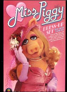 1980 Miss Piggy Dress-Up Colorforms Set