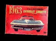 1963 Palmer 3 in 1 Customized Corvette Kit Box