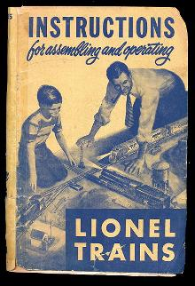 1950 Lionel Instructions for Assembling & Operating O Scale Trains