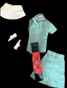 1962 Tammy #9118-1 Tee Time Golf Outfit