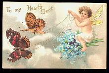 Ellen Clapsaddle Valentines Cherub 1905 Postcard