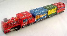 1960s Masuya Japan Tin Friction Train