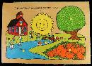 1978 Fisher Price Wooden Puzzle #522 Mint in Box