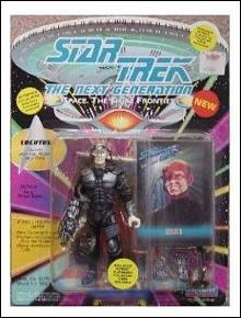Star Trek (Generations) Locutus Mint on Card