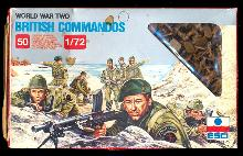 Esci 1/72 WWII British Commandos Soldiers