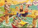 1966 Popeye Jaymar Tray Puzzle 11 1/2