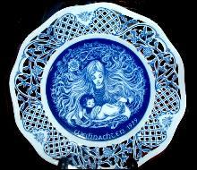 Weihnachten 1979 Collector Plate - Marianne Stuwe