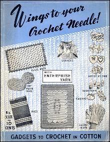 1930s Enterprise Yarn Crochet & Knitting Manual Bookook