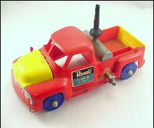 1950s Revell Hard Plastic Plumbing Service Truck