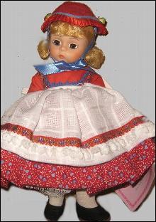 Madame Alexander #546 Denmark Doll