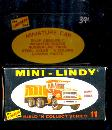 1968 Mini-Lindy Lindberg Dump Truck Model Kit