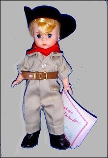 Madame Alexander #504 Australia Doll