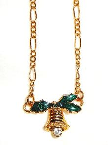 Vintage Avon Christmas Bell Bracelet or Anklet