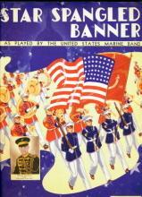 1942 Star Spangled Banner Patriotic Sheet Music