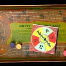 1930s Milton Bradley Smitty Speed Boat Race Game