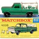 1960s Matchbox No 50 Kennel Truck in Box