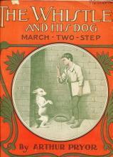 1905 'The Whistler' Dog Sheet Music