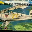 HELLER Bucker' Bu433 Jungmeister Fighter Model