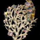 Early Highly Detailed Tree with Stones Brooch