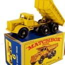 1960s Matchbox No 6 Euclid Quarry Truck in Box